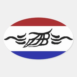 Joel Tucker Band Design/Logo Oval Sticker