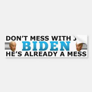 Joe's A Mess Bumper Sticker