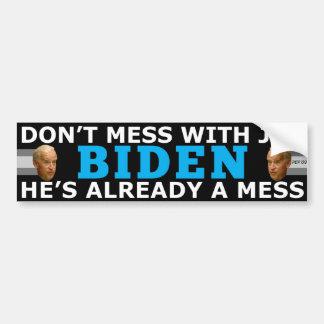 Joe's A Mess Bumper Stickers