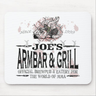 Joe's Armbar & Grill MMA Gear Mouse Pads