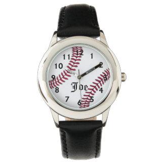 Joe's Baseball Time Wristwatch