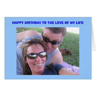 Joe's Birthday Card