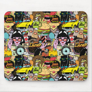 Joes Diner - Mouse Pads