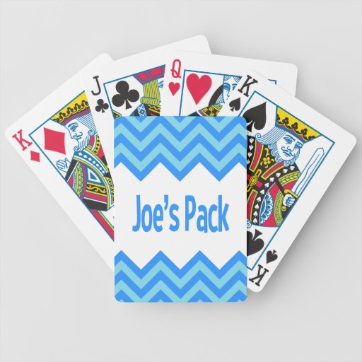 Joe's Pack Playing Cards