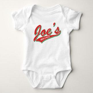 Joe's Pizza & Pasta Baby Bodysuit