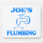 Joe's Plumbing Mouse Mat