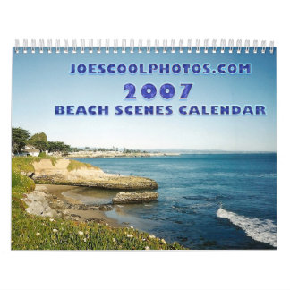 JOESCOOLPHOTOS.COM 2007 Beach Scenes Calendar