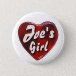 JoesGirl2 Pinback Button