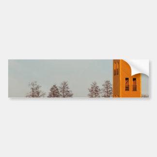 Jõesuu watchtower Lake Võrtsjärv Estonia Bumper Sticker