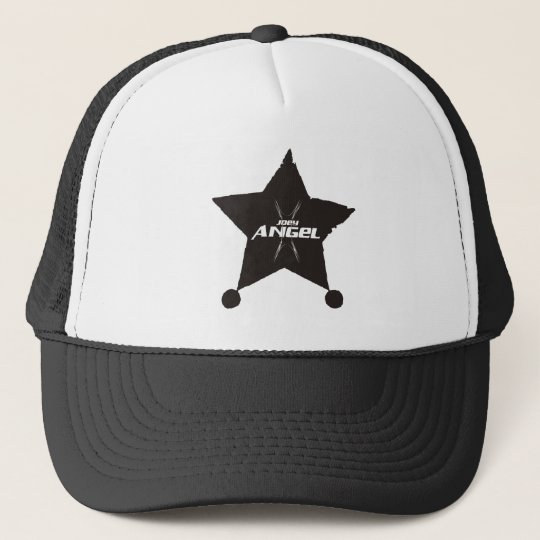 JOEY ANGEL ROCKSTAR TRUCKER HAT