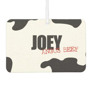 """Joey """"Angus Beef"""" Trendy Air Freshener"""