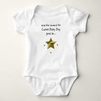 Joey:Cutest Baby Boy Baby Bodysuit
