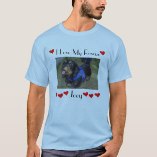 joey i love my rescue #4 T-Shirt