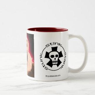 Joey Lumpkin, StinkStankStunk_Logo, StinkStankS... Two-Tone Coffee Mug