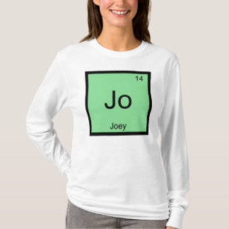 Joey  Name Chemistry Element Periodic Table T-Shirt