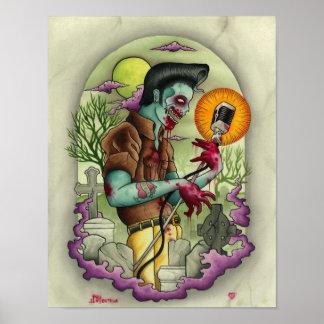 Joey Ortega Zombie King Poster