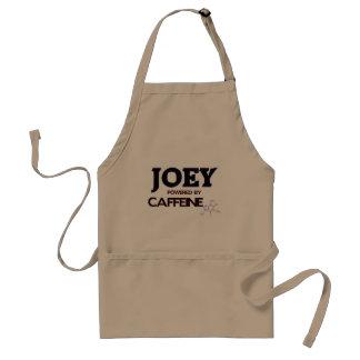 Joey powered by caffeine aprons