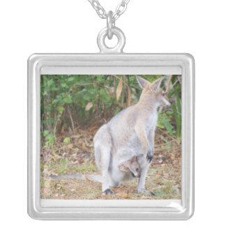 Joey with Mama Kangaroo Pendant