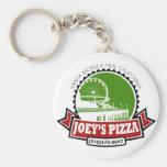 Joey's Pizza Key Chain