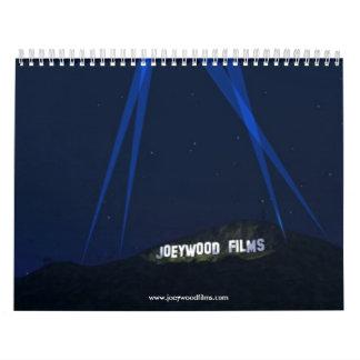 JOEYWOODtreesHILL22, www.joeywoodfilms.com Calendar