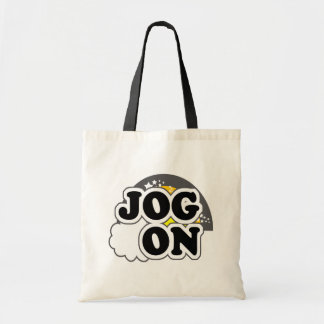 Jog On Budget Tote Bag