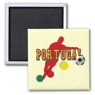 Jogador de Selecção Portuguesa 2 Inch Square Magnet