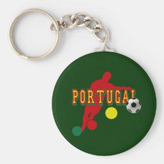 Jogador de Selecção Portuguesa Llavero Redondo Tipo Pin