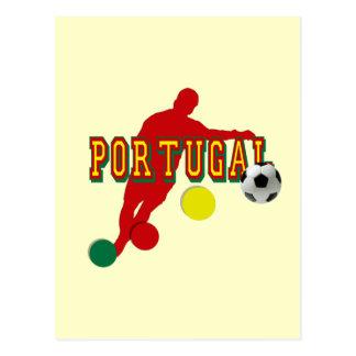 Jogador de Selecção Portuguesa Postcard