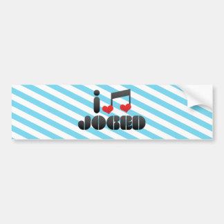 Joged fan bumper sticker