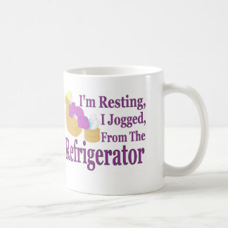 Jogged From Refrigerator Coffee Mug