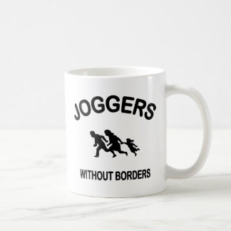 Joggers Without Borders Coffee Mug