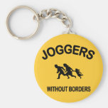 Joggers Without Borders Key Chains