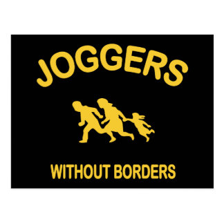 Joggers Without Borders Postcard