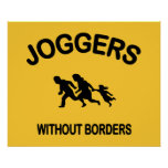 Joggers Without Borders Print