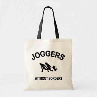 Joggers Without Borders Tote Bag