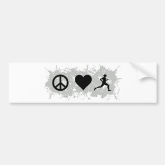 Jogging 1 bumper sticker