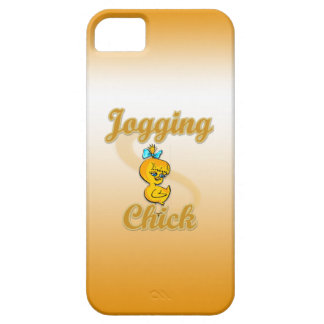Jogging Chick iPhone 5 Case