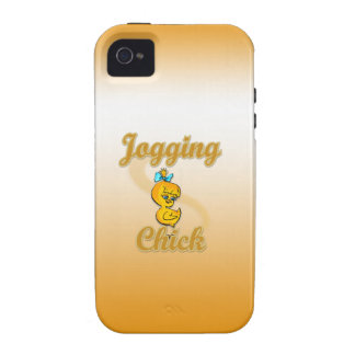 Jogging Chick iPhone 4/4S Cover