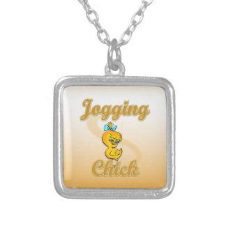 Jogging  Chick Necklaces