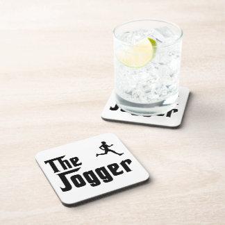 Jogging Beverage Coaster