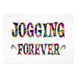 Jogging Forever Invite