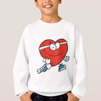 Jogging Heart Sweatshirt
