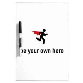 Jogging Hero Dry-Erase Board