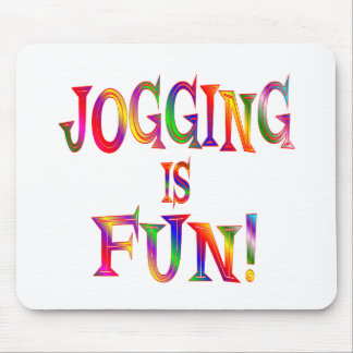 Jogging is Fun Mouse Pad