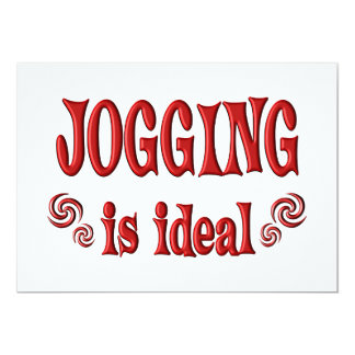 Jogging is Ideal Card