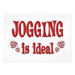 Jogging is Ideal Custom Invitations