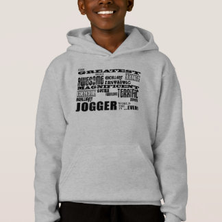 Jogging & Joggers : Greatest Jogger the World Ever Hoodie