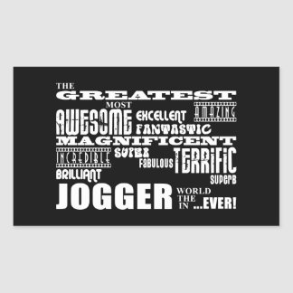 Jogging & Joggers : Greatest Jogger the World Ever Sticker