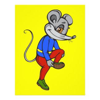 Jogging Mouse Flyer