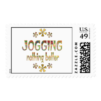 JOGGING Nothing Better Stamps